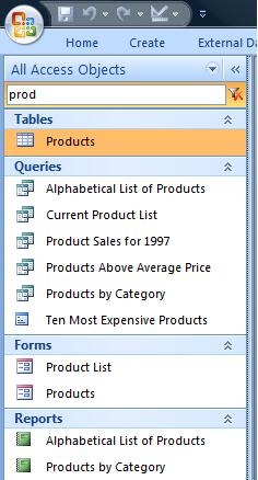 the navigation pane is a new feature in access 2007 that has existing access users grumbling about many losses of functionality compared to the previous