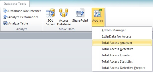 New Features of Total Access Analyzer for Microsoft Access 2010