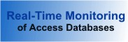 Monitor Users in your Microsoft Access Databases in real time