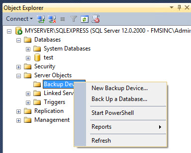 Microsoft Sql Server Express Tip To Automate Backups Of Your Sql