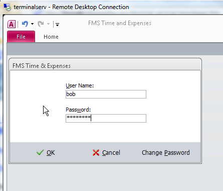 Microsoft Access With Remoteapp In Terminal Services