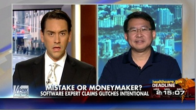 Luke Chung on Fox & Friends with Clayton Morris
