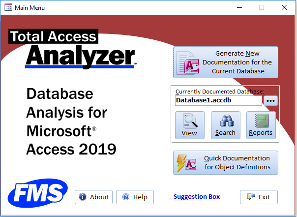New Features of Total Access Analyzer for Microsoft Access 2019
