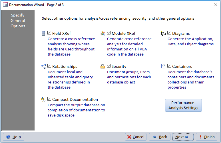 New Features of Total Access Analyzer for Microsoft Access