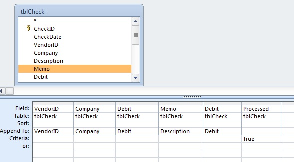 Microsoft access append query examples and sql insert for Sql table design query