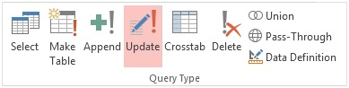 Microsoft Access Update Query Examples, SQL Syntax, and Errors