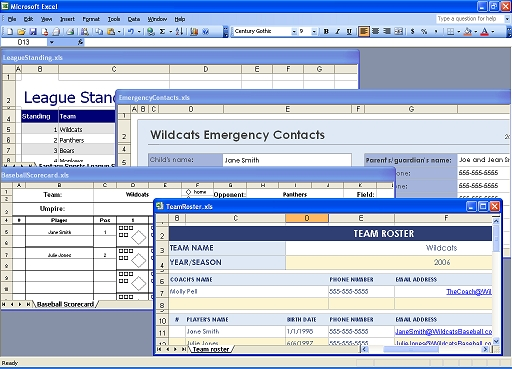 how to open 2 excel spreadsheets at once