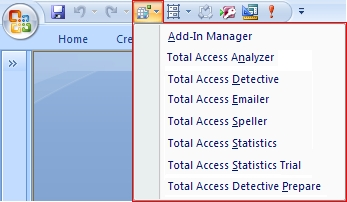Adding Commonly-used Command Buttons to the Microsoft Office Access
