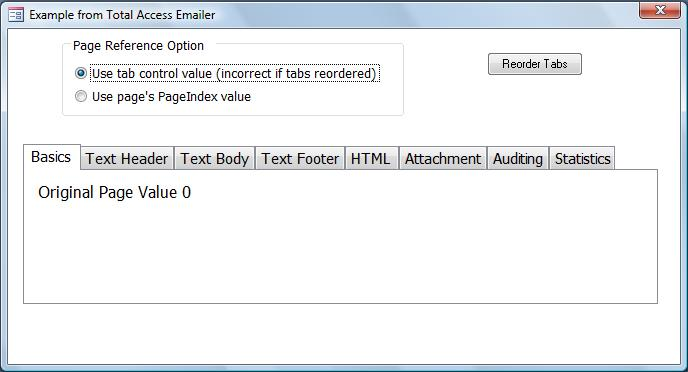 Microsoft Access Tab Control on Forms, Reference Tab Pages
