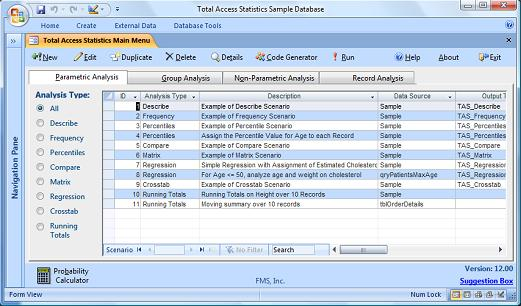 New Features in Total Access Statistics 2007 for Microsoft